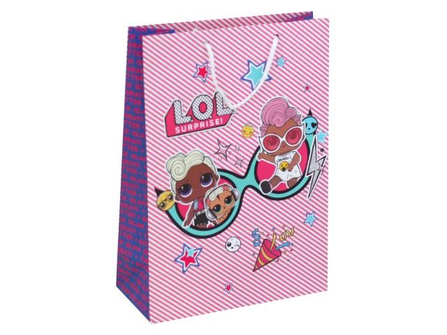 Пакет подарочный бумажный 22*31*10см NDPlay LOL 288756
