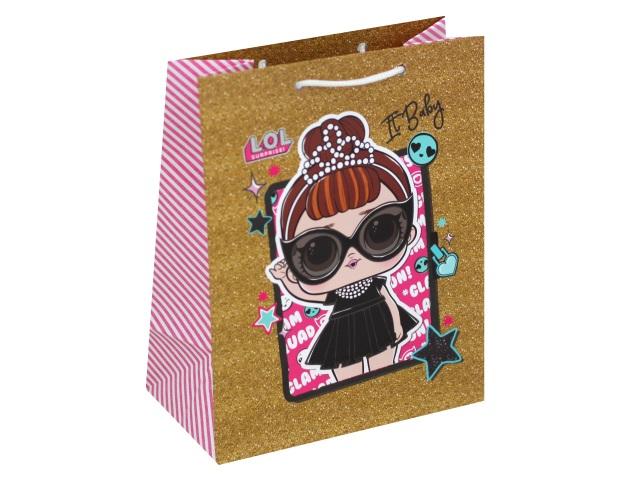 Пакет подарочный бумажный 18*23*10см NDPlay LOL 288760
