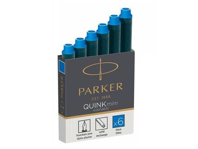 Капсулы  6 шт. Parker Quink mini синие 1950409