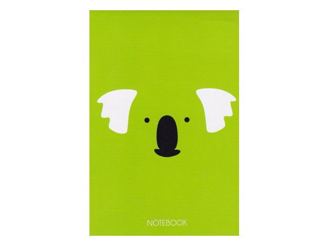 Блокнот А6 Канц-Эксмо клееный м/обложка 40л Коала БСК64019