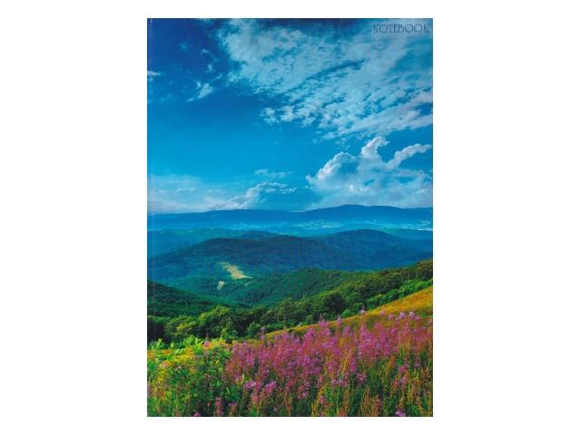Книга канцелярская  80л Канц-Эксмо Пейзаж Горная долина КЗ4802295