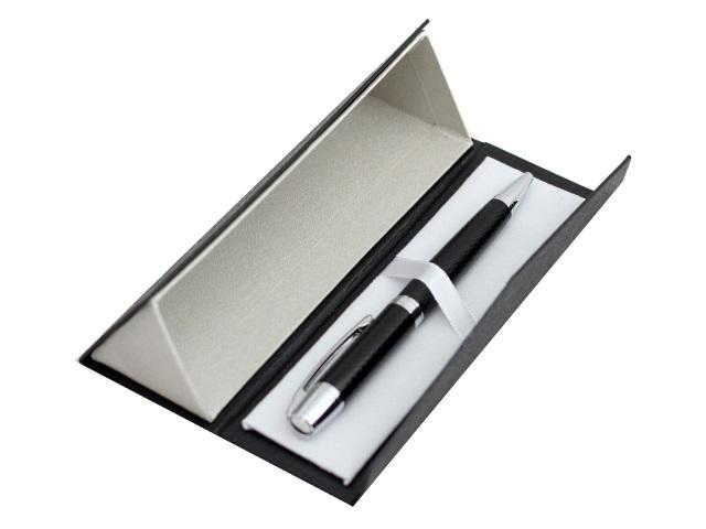 Ручка шариковая поворотная Mazari Gragory M-7391-70 металл синяя 0.7мм в футляре