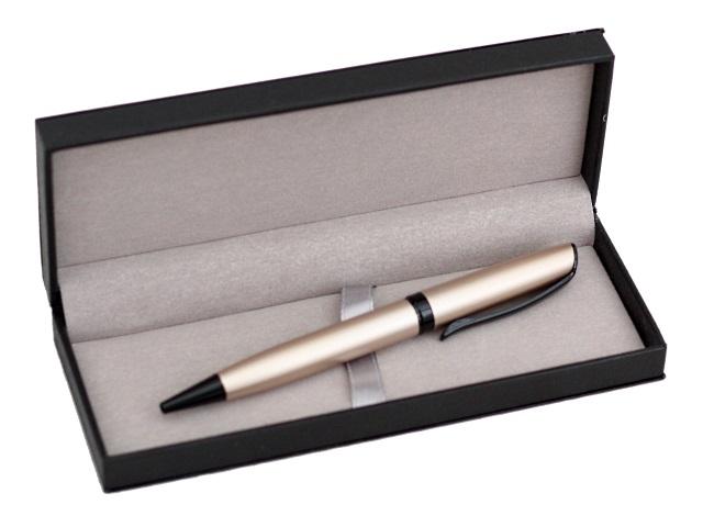 Ручка масляная поворотная Mazari Orlando-С M-7571-70 металл синяя 0.7мм в футляре