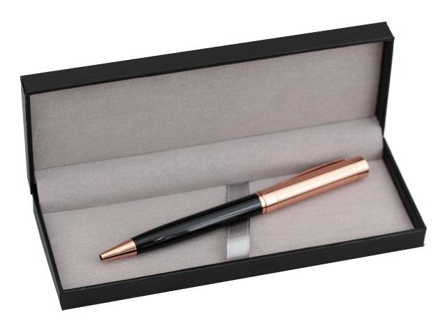Ручка масляная поворотная Mazari Argos C M-7574-70 металл синяя 0.7мм цветной корпус в футляре