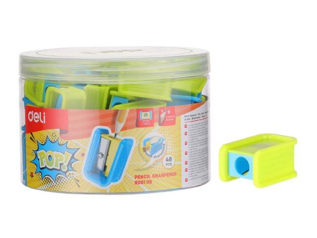 Точилка пластик Deli Pop ER00106