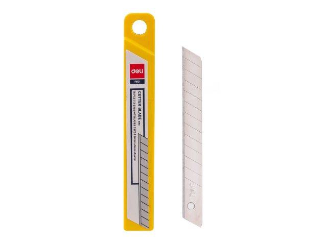 Лезвия к ножу  9 мм 10 шт. Deli Pro E2012