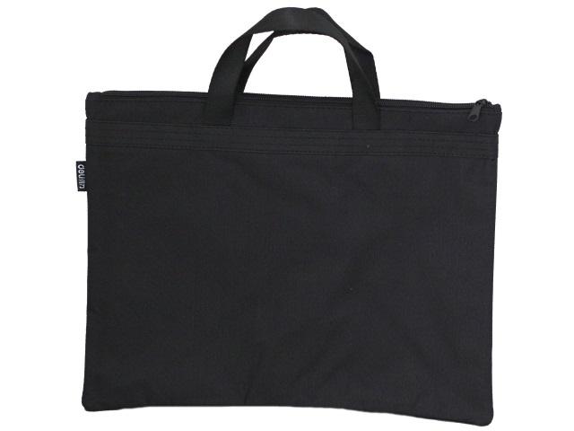 Портфель А4 текстиль Deli Extend 2 отделения черный EB55022