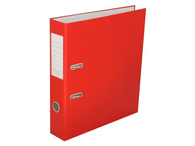 Регистратор  А4/50 Банко ЭКО красный с металлической окантовкой 1029146