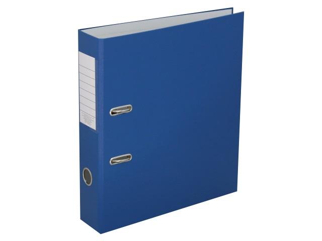 Регистратор  А4/75 Банко ЭКО синий с металлической окантовкой 1029149