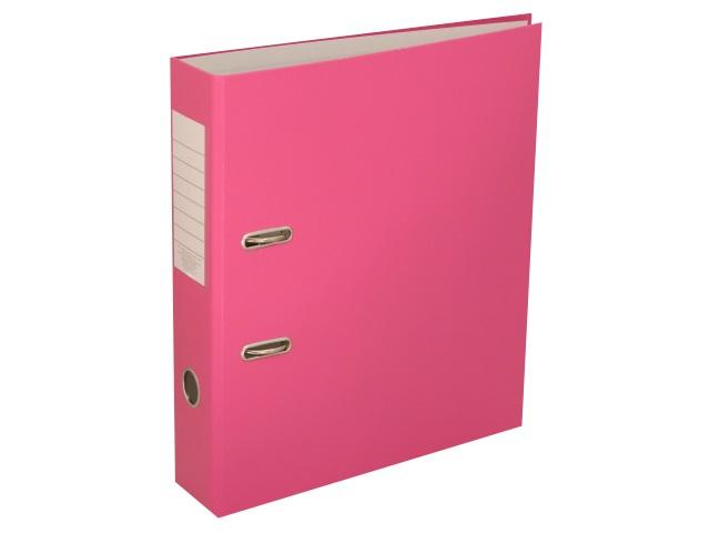 Регистратор  А4/50 Банко ЭКО розовый с металлической окантовкой 1272121