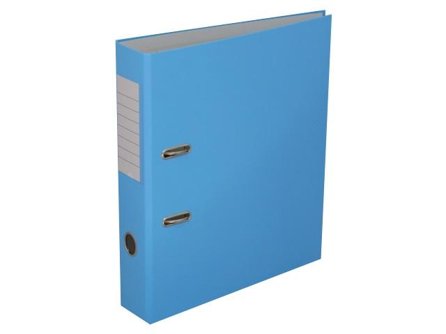 Регистратор  А4/50 Банко ЭКО голубой с металлической окантовкой 1272122