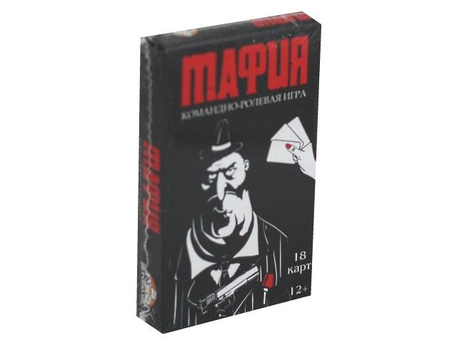 Настольная карточная игра Игрополис Мафия 18 карточек ИН-1858