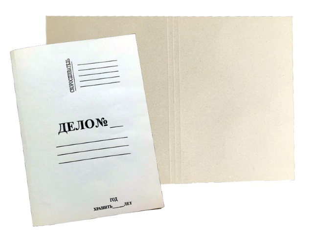 Папка-обложка без скоросшивателя А4 380 г/м2 Союзбланкиздат 66582
