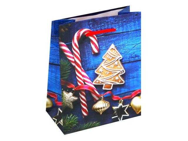 Пакет подарочный бумажный 11.5*14.5*6см Праздник в каждом доме Miland ПКП-8632