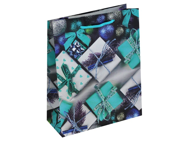 Пакет подарочный бумажный 18*23*10см Подарки ПКП-8866