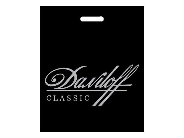 Пакет с прорезной ручкой 40*50см Daniloff черный Miland ВУР01920