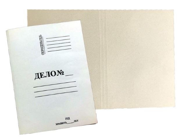 Папка-обложка без скоросшивателя А4 440 г/м2 Дело 1184608