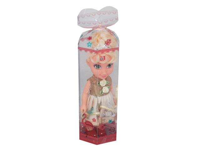 Кукла Emily Цветочный наряд 16см блондинка 77823