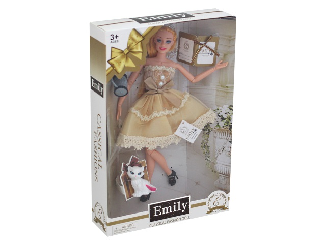 Кукла Emily Ванильное небо 28см ассорти 77824