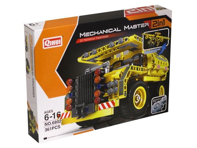 Конструктор  361 деталь Mechanical Master Строительная техника инерционный 1555206