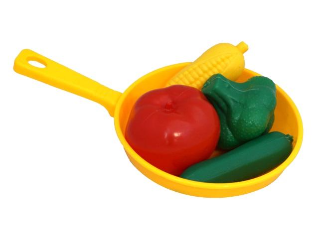 Овощи  4 шт. в сковородке EstaBella 62140