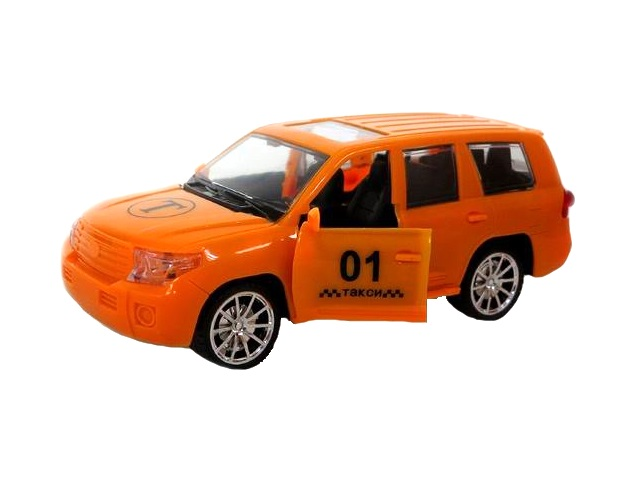 Машина инерционная Такси 22см со звуком и светом M9055-3