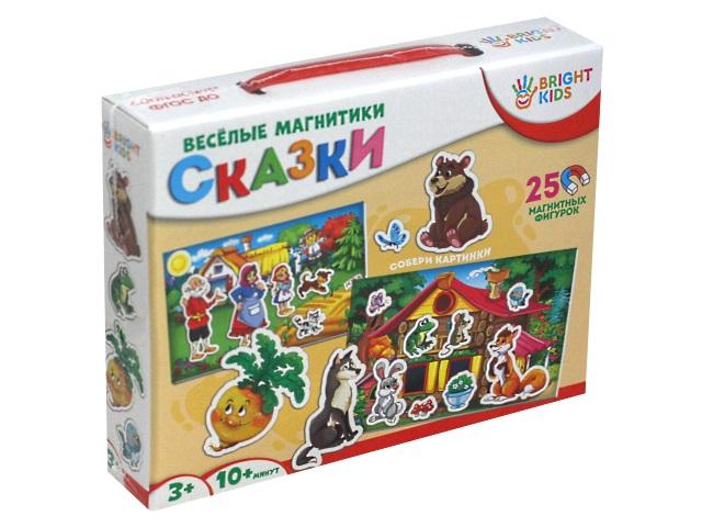 Игра развивающая Bright Kids Весёлые магнитики Сказки ИН-7613