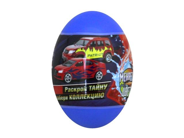Машинка-сюрприз в яйце Autogrand Русская серия Меняют цвет металл 7см 51401