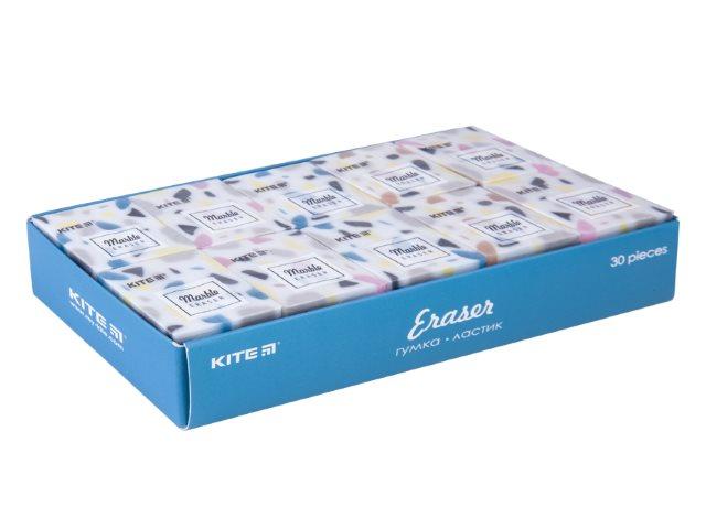 Ластик Kite Marble квадратный цветной K20-021