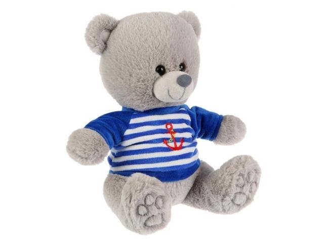 Мягкая игрушка с озвучкой Медведь в тельняшке 22см Стихи А.Барто M9848-22A