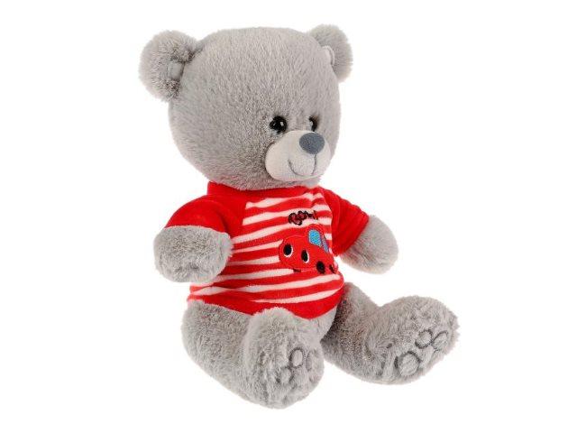 Мягкая игрушка с озвучкой Медведь в футболке 22см Стихи А.Барто M9848-22B