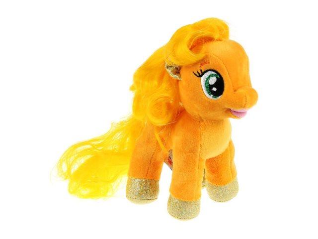 Мягкая игрушка Мой маленький пони Эппл Джек 18см Мульти-пульти V27480-18NS