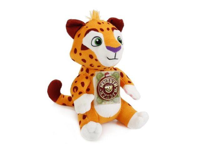 Мягкая игрушка с озвучкой Лео и Тиг 20см Лео V39456/20