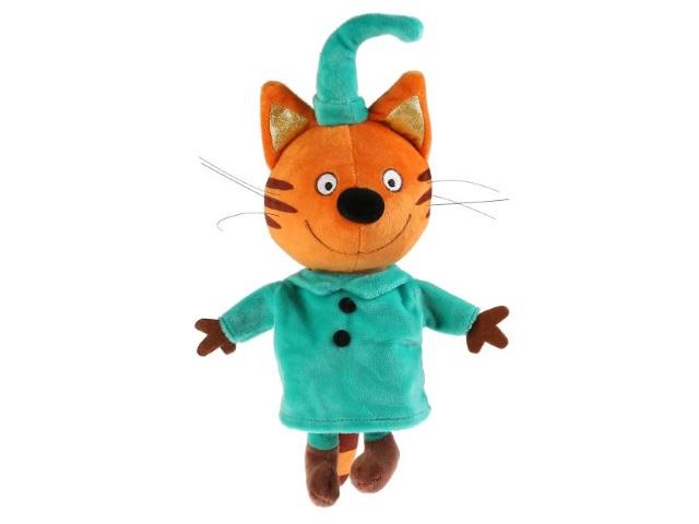 Мягкая игрушка с озвучкой Три кота Компот 20см Мульти-пульти V92305/20