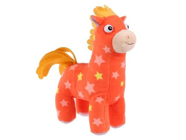 Мягкая игрушка с озвучкой Деревяшки Лошадка Иго-го 15см V92657-15