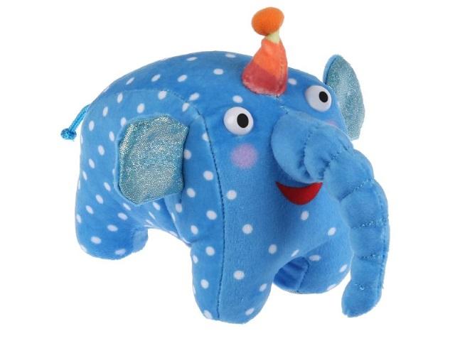 Мягкая игрушка с озвучкой Деревяшки Слон Ду-ду 20см V92659/20