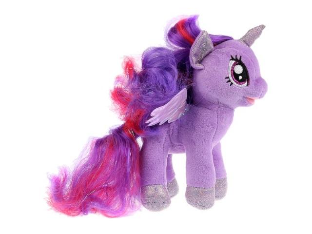 Мягкая игрушка Мой маленький пони Искорка 18см Мульти-пульти V27478-18NS