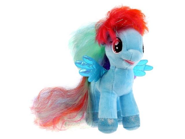 Мягкая игрушка Мой маленький пони Радуга 18см Мульти-пульти V27483-18NS