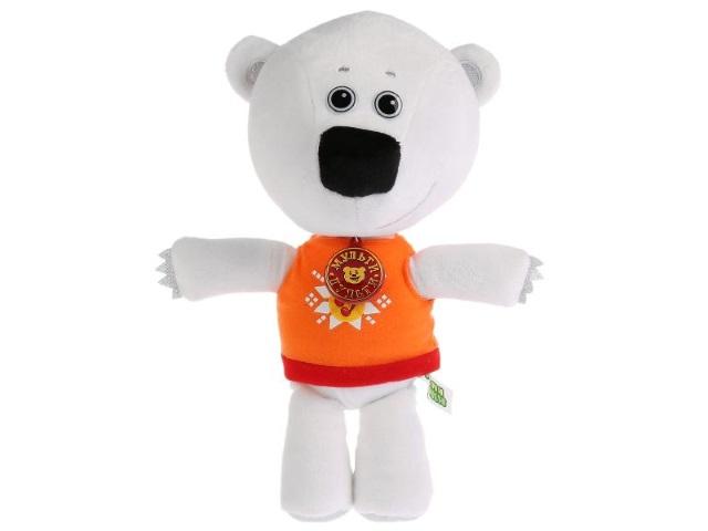 Мягкая игрушка с озвучкой Мимимишки Медвежонок Тучка 20см Мульти-пульти V62076/20