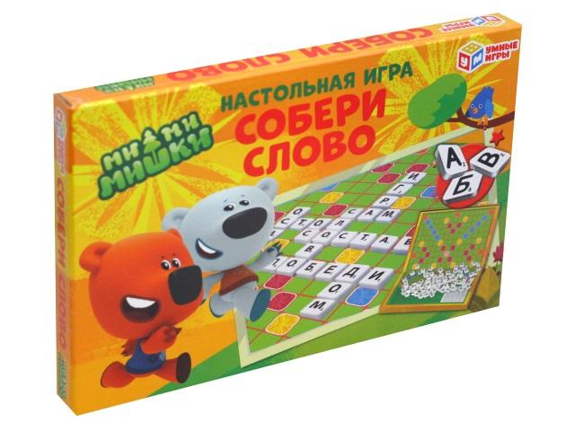 Настольная игра Словодел Мимимишки Умные игры