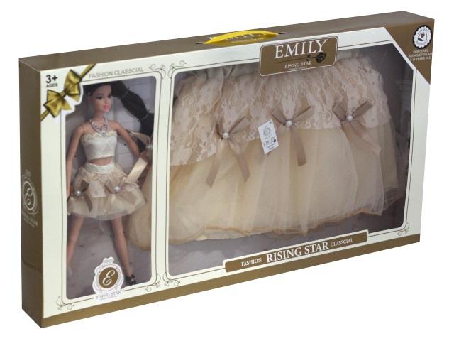 Кукла Emily Rising Star 28см с юбкой Ванильное небо 77023