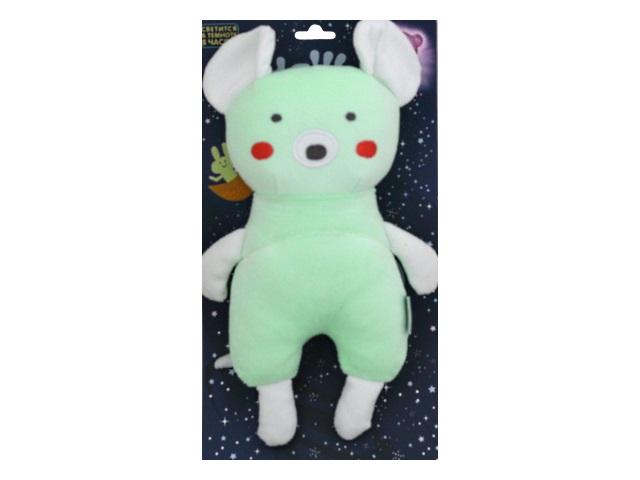 Мягкая игрушка Луняша Мышка 24см светится в темноте 76571