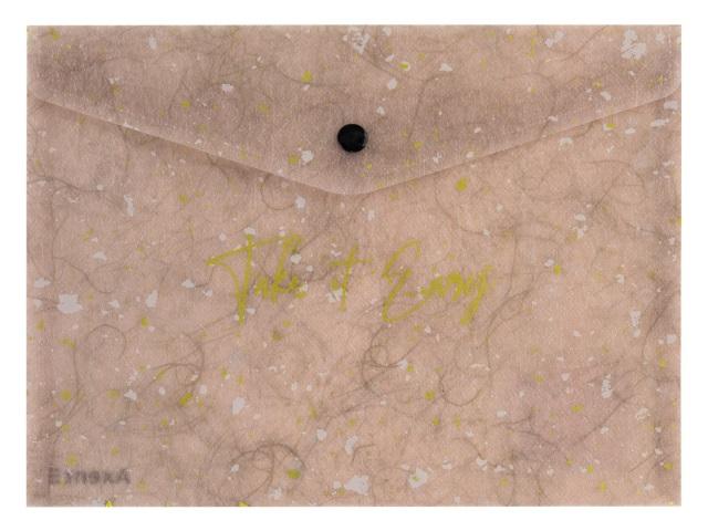 Папка конверт на кнопке А4 Axent Shade сиреневая 1495-16-A