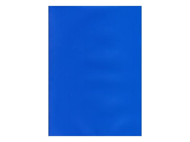 Уголок А4 180мкм Бюрократ синий матовый E310N-1blu