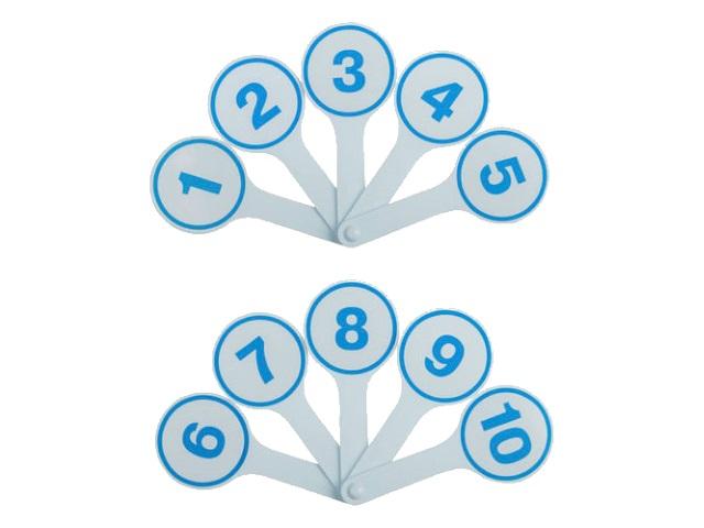 Веер Цифры 0-9 WM 188000900