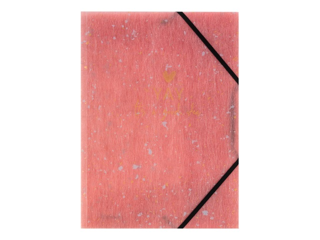 Папка на резинке А4 Axent Shade коралл 1509-14-A
