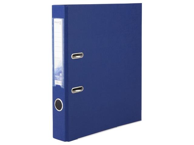 Регистратор  А4/50 Axent синий с металлической окантовкой D1713-02