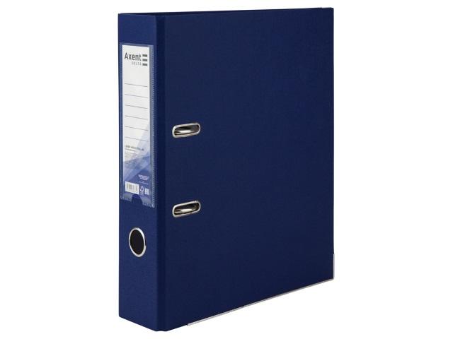 Регистратор  А4/75 Axent синий с металлической окантовкой D1714-02\50
