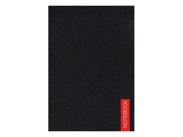 Блокнот А6 Канц-Эксмо клееный м/обложка 40л Черный БСК64033