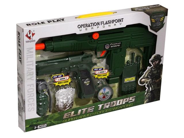Военный набор  7 предметов Elite Troops 1700737